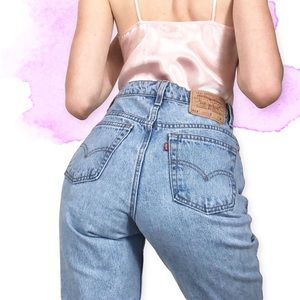 🌸Vtg 512 Slim Fit Straight Leg Levis 26🌸